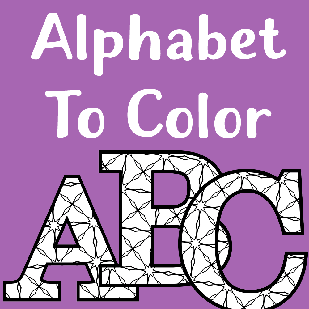 Printable Alphabet Letters To Color