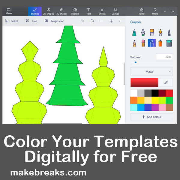 Tutorial: Color Your Templates Before Printing