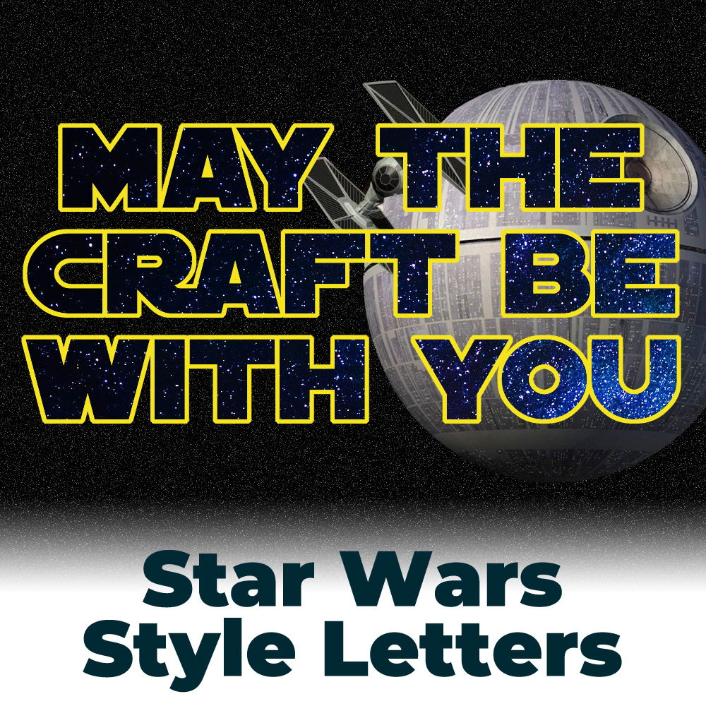 Free Star Wars Style Letters